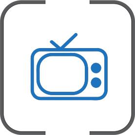 Icoon internet telefonie tv Test